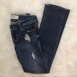 Abercrombie Kids Distressed Skinny Jeans. Size 12